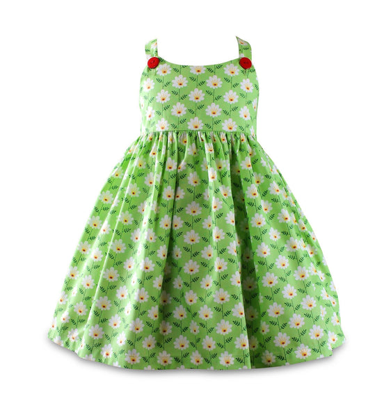 Girls Dress - Unicornland Daisy Field Sun Dress