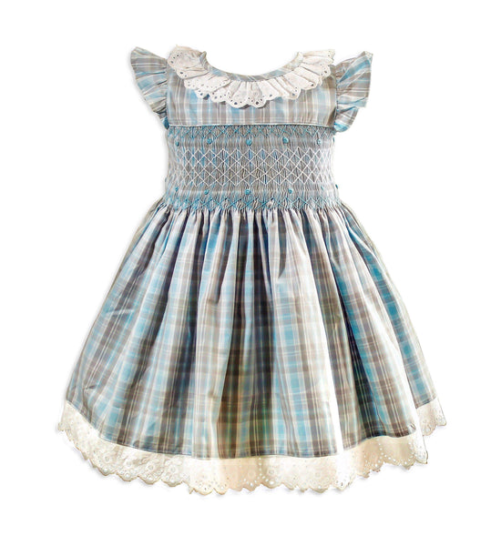 Vintage Eva Smocked Dress - Little Miss Marmalade