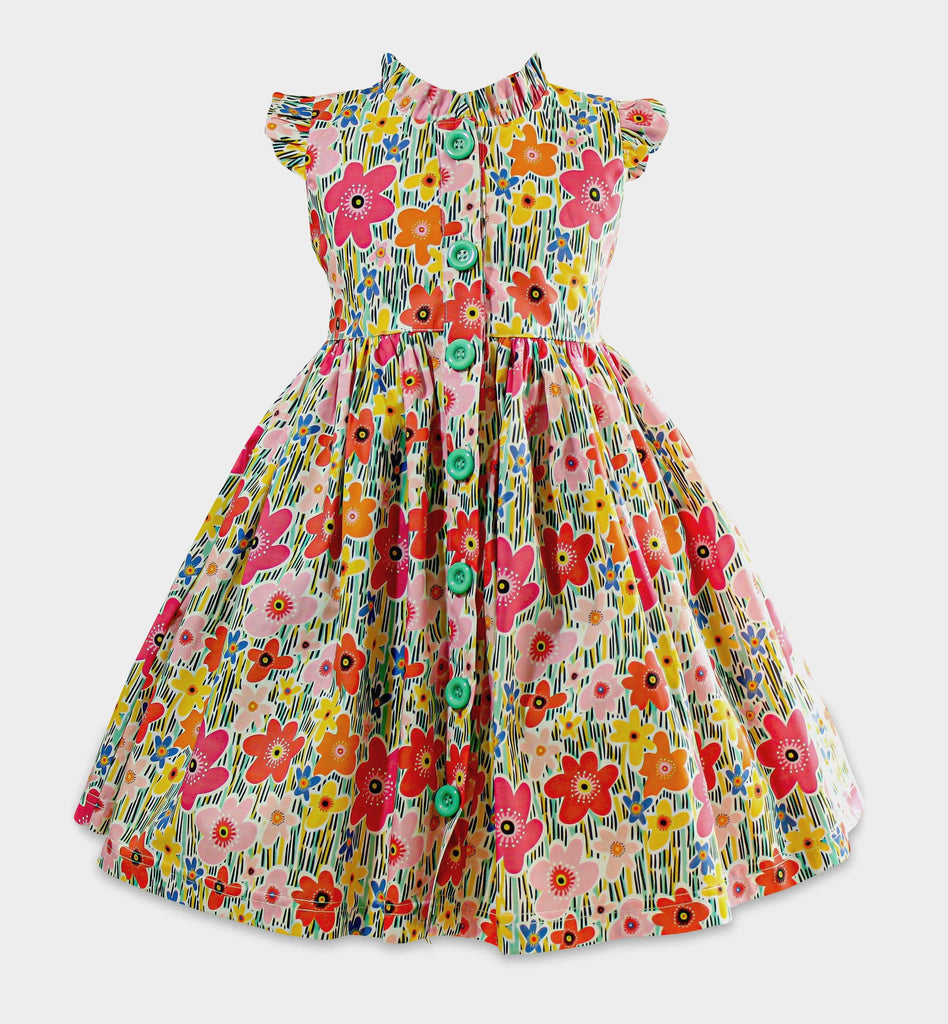 Vintage Garden Glen Park Dress - Little Miss Marmalade
