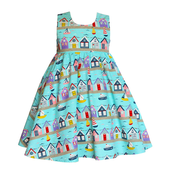 Vintage Mabel Sailboat Dress - Little Miss Marmalade