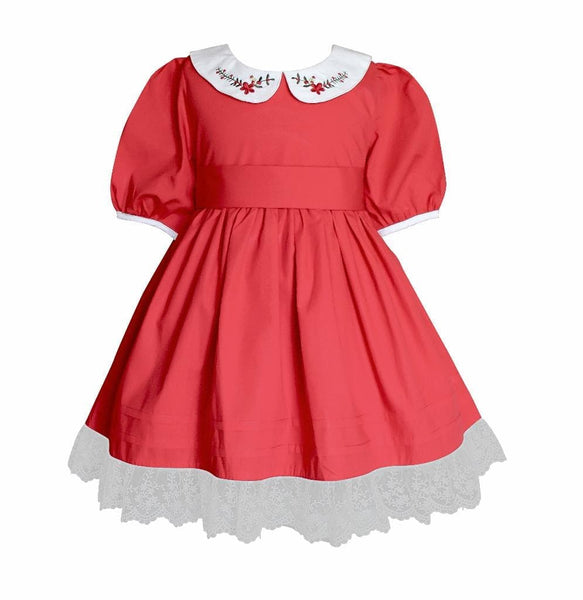 Vintage Polly Christmas Dress - Little Miss Marmalade