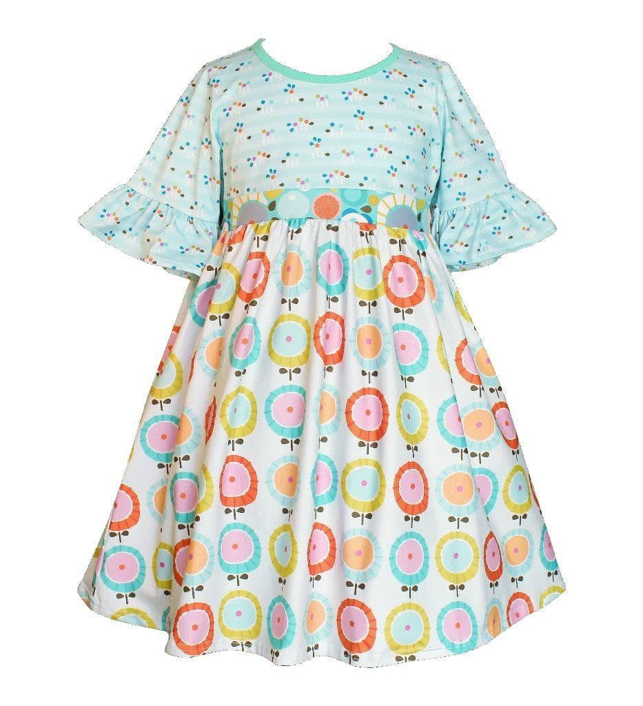 Water Color Millie Dress - Little Miss Marmalade