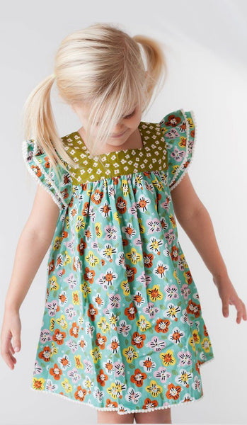 Girls Dress - Wishful Happy Dress