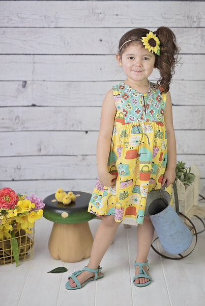 Girls Dress - Wishful Tilly Dress