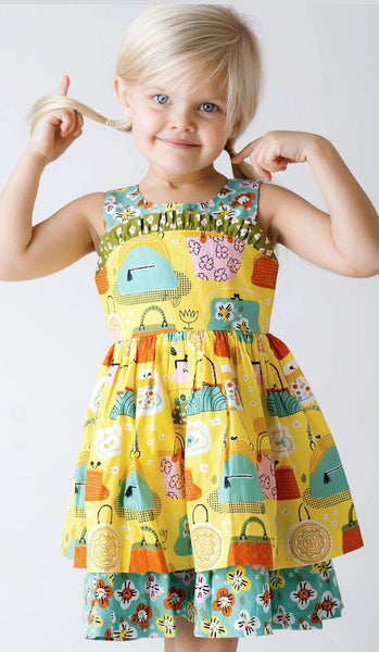 Girls Dress - Wishful Wilder Dress