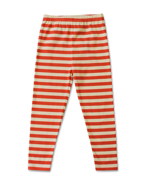 Girls Leggings - Hazel The Hedgehog Striped Leggings
