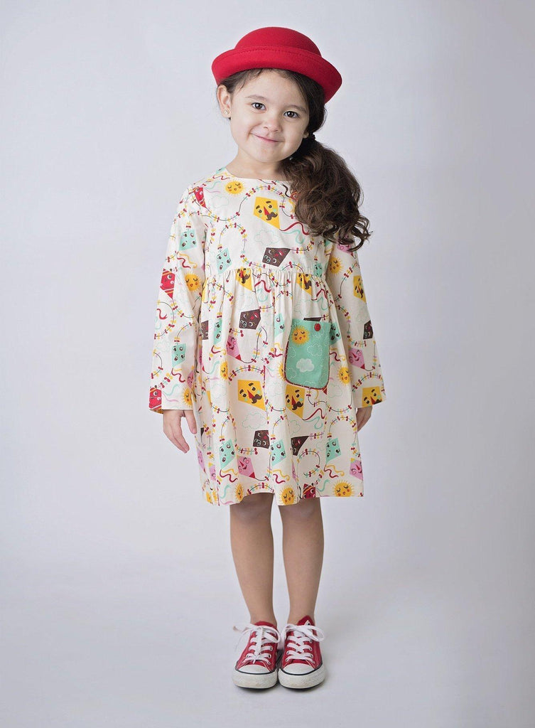 Girls Tunic Top - Go Fly A Kite Katie Tunic Top