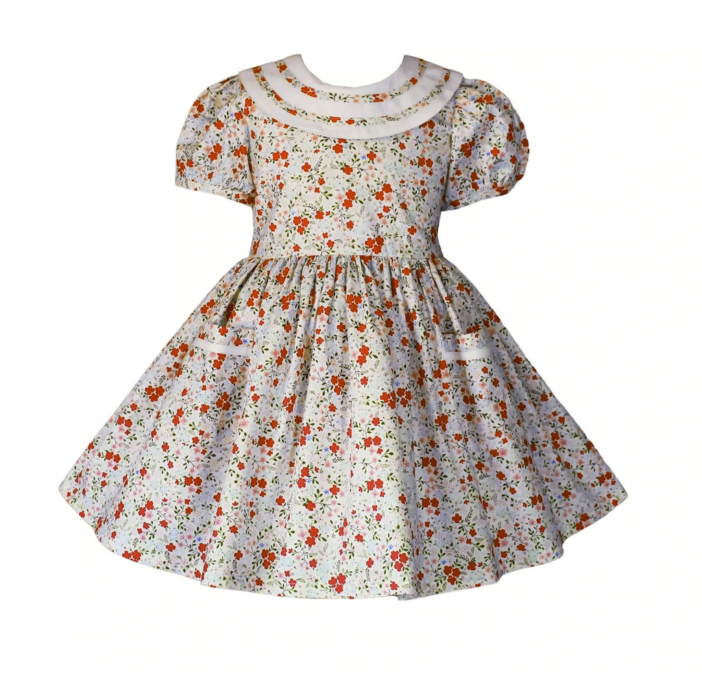 Vintage Easter Lottie Dress - Little Miss Marmalade