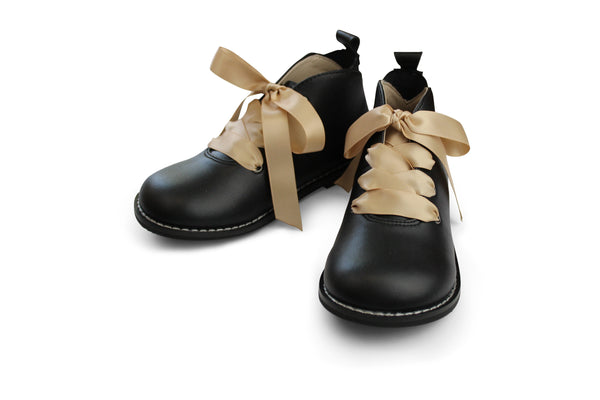 Hyde Street Black Ankle Boots - Booties - Little Miss Marmalade