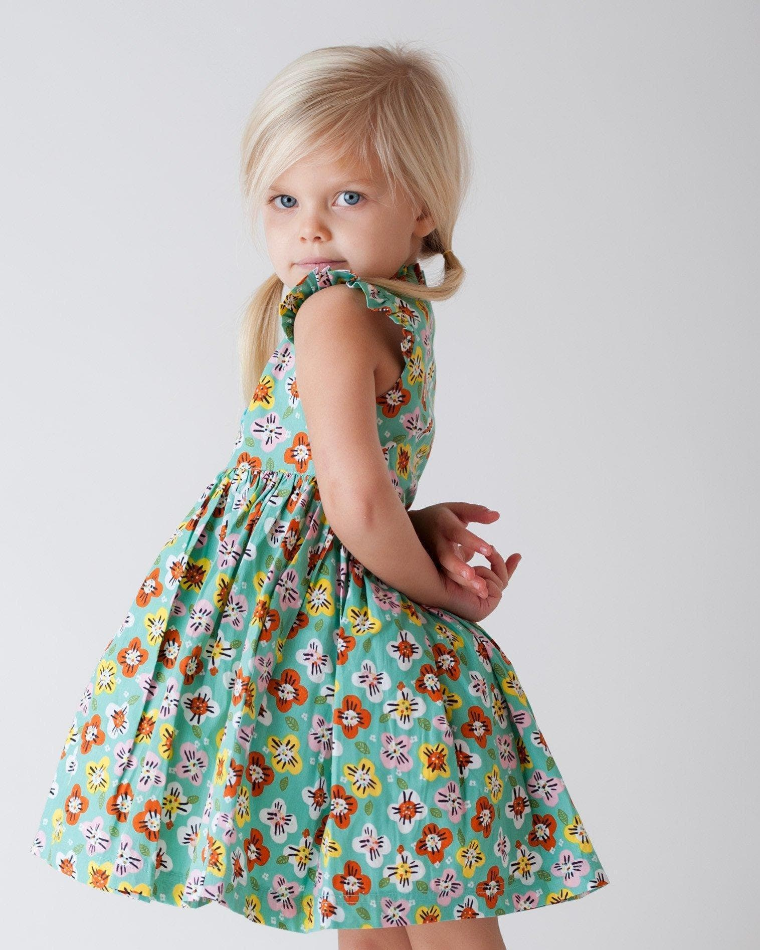 boutique girls easter dress