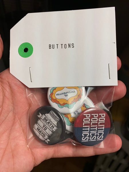 JuRY / Politics Button Pack