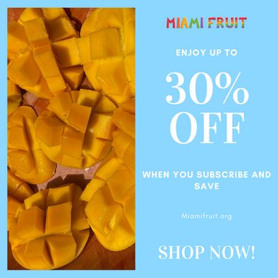 😍  How to save up to 30% on your favorite fruit box