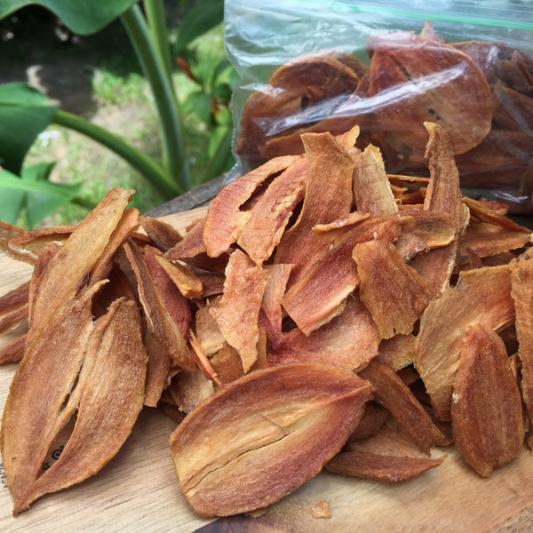 Dehydrated Sapodilla Chips