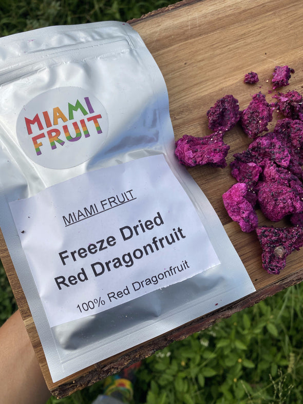 Freeze Dried Red Dragonfruit (Pitaya)
