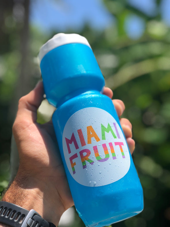 Miami Fruit Water Bottle