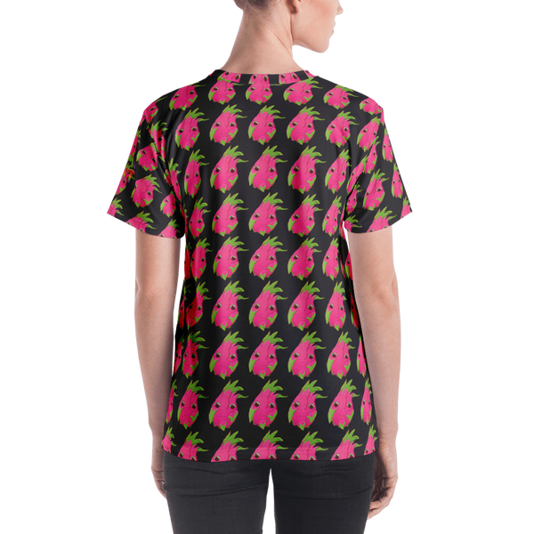 Red Dragonfruit Repeat Women's T-shirt