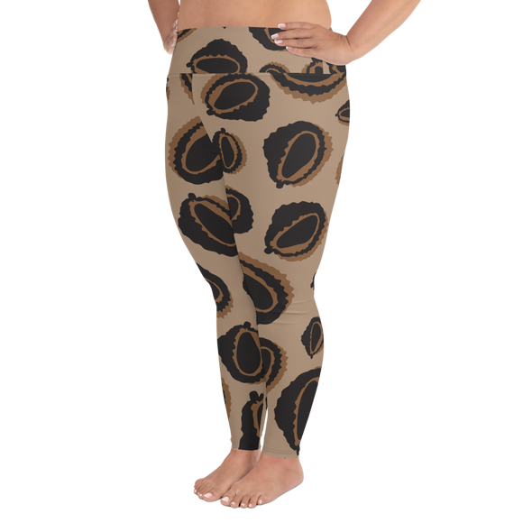 Durian Cheetah Plus Size Leggings