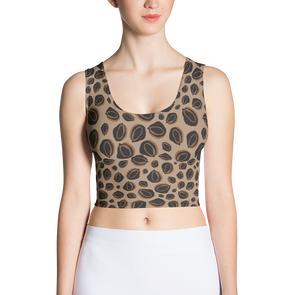 Durian Leopard Crop Tank Top