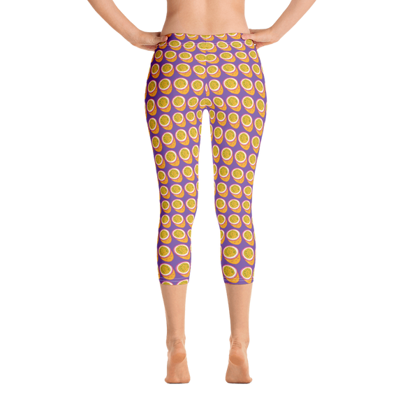 Passionfruit Capri Leggings