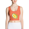 Orange Durian Crop Top