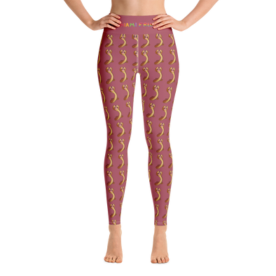 Akee High Waist Yoga Leggings