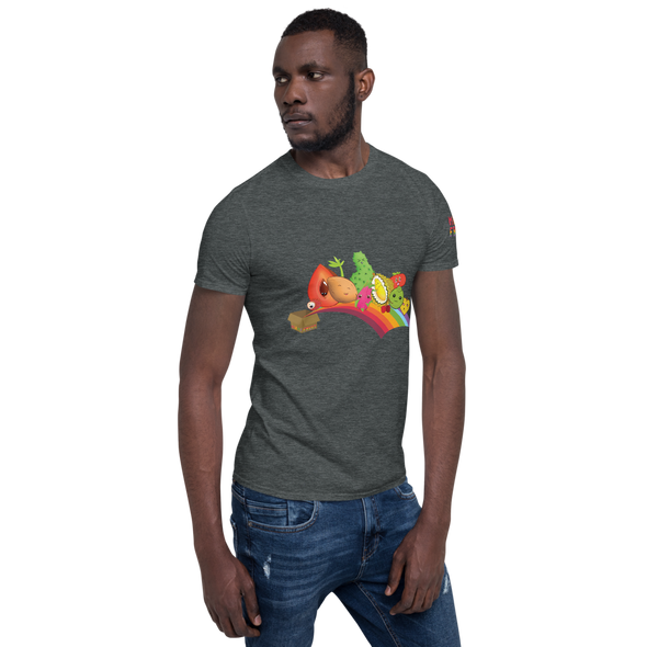 Miami Fruit Box Short-Sleeve Unisex T-Shirt