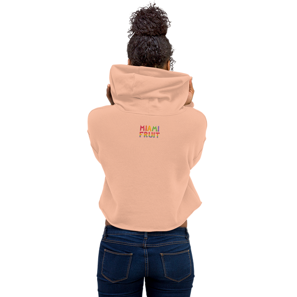 Black Sapote Crop Hoodie *Multiple Colors*