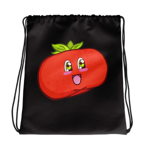 Persimmon Drawstring bag
