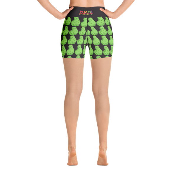Soursop High Waist Yoga Shorts
