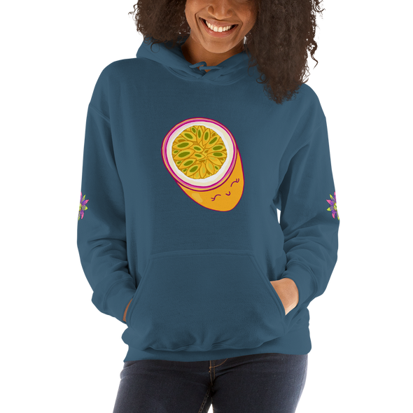 Passionfruit Hooded Sweatshirt *Multiple Colors*