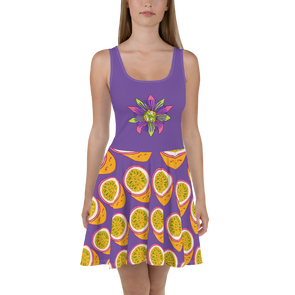 Passionfruit Skater Dress