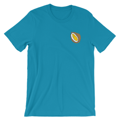Embroidered Durian Short-Sleeve Unisex T-Shirt