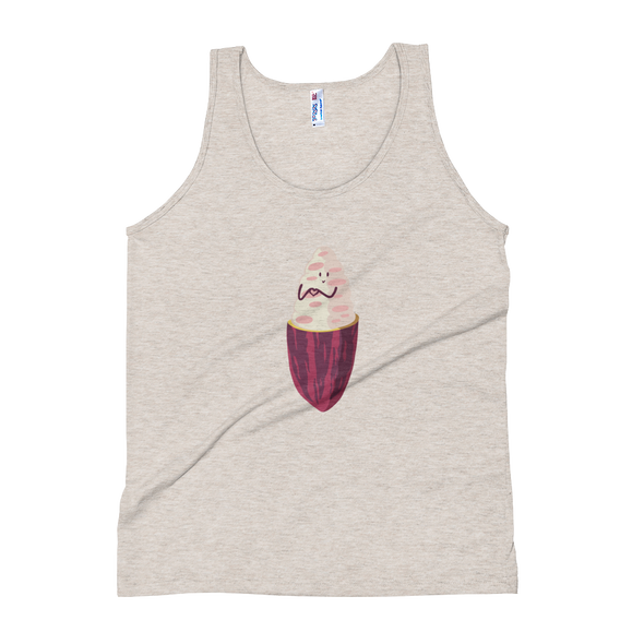 Cacao Heart Unisex Tank Top