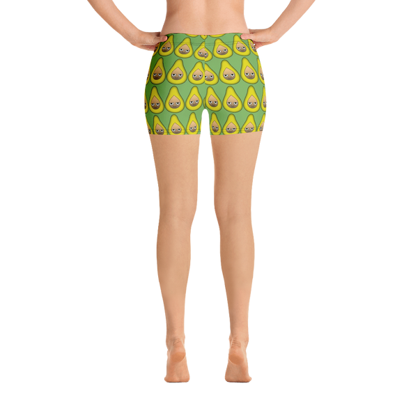Avocado Yoga Shorts