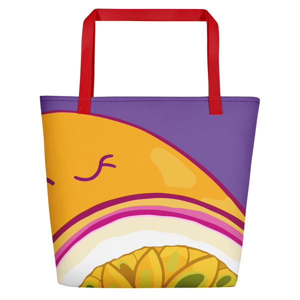 Passionfruit Beach Bag