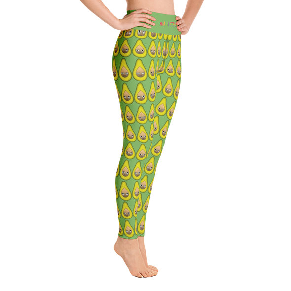 Avocado High Waist Yoga Leggings