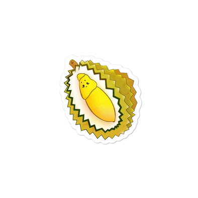 Durian Bubble-free sticker