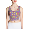 Mandala Crop Tank Top