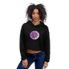 Star Apple Crop Hoodie