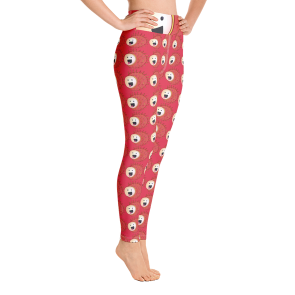 Rambutan High Waist Yoga Leggings