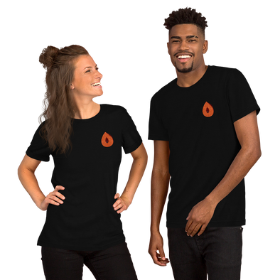 Embroidered Mamey Short-Sleeve Unisex T-Shirt