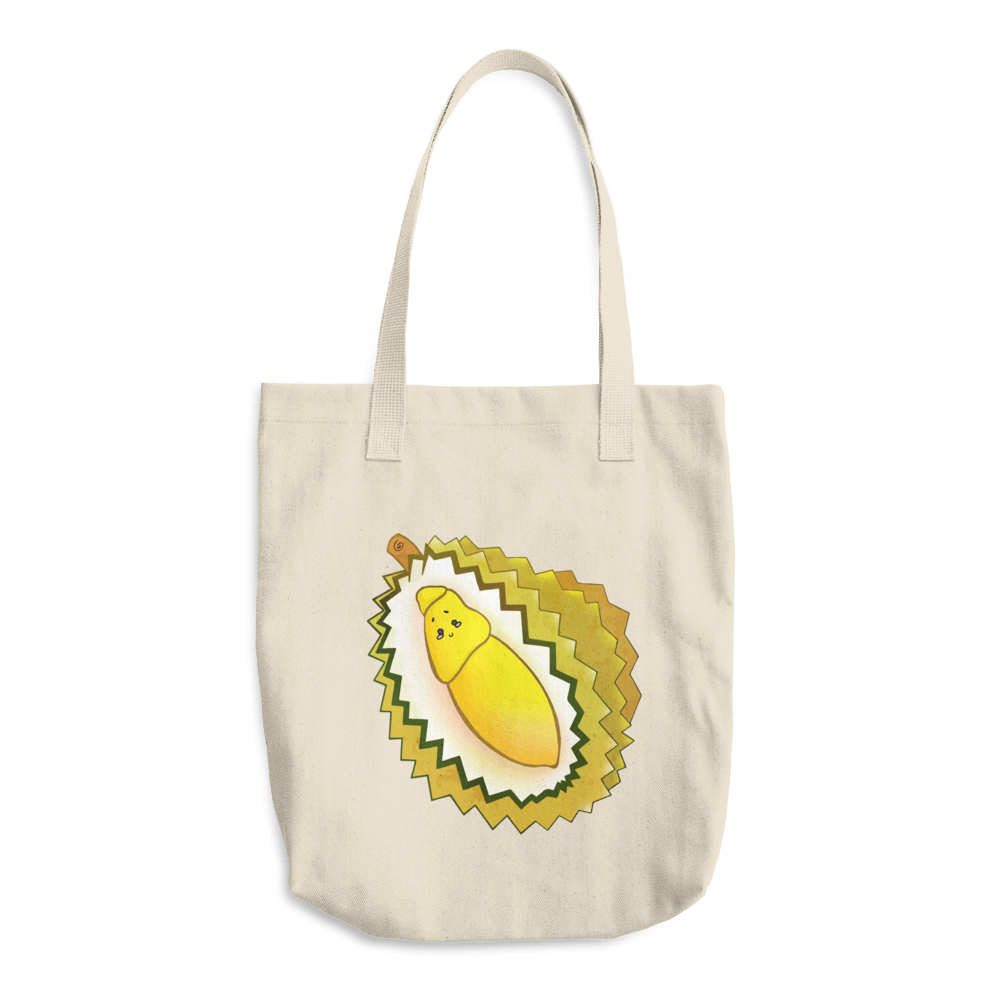 Durian Cotton Tote Bag