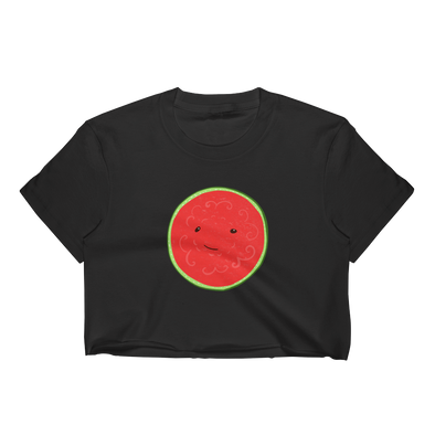 Seeded Watermelon Crop Top