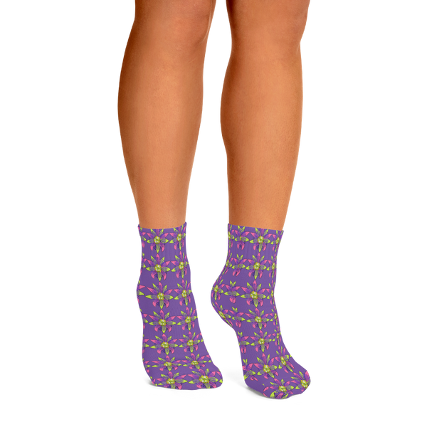 Passionflower Socks