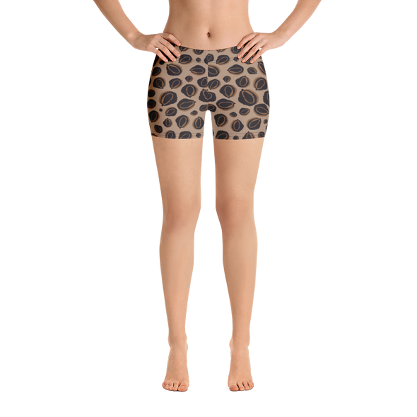 Durian Leopard Shorts