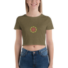Fruit Mandala Crop Tee