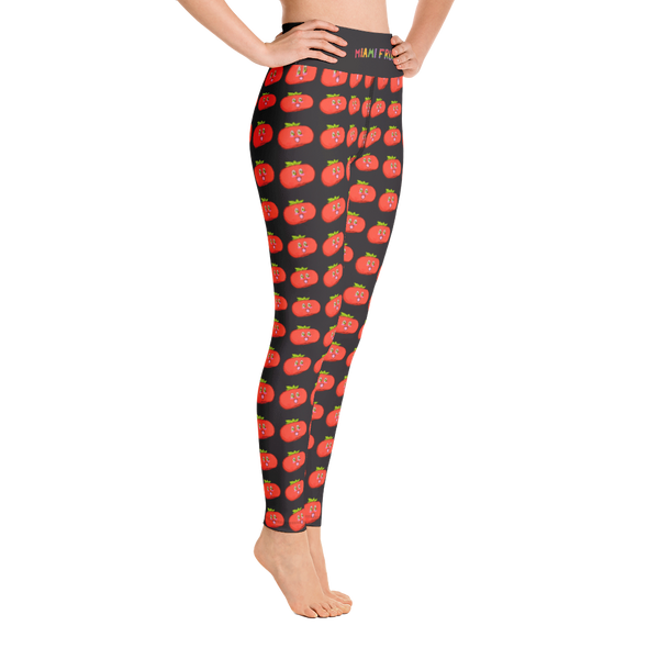 Persimmon High Waist Yoga Leggings