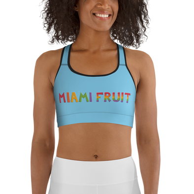 MiamiFruit Logo Sports bra