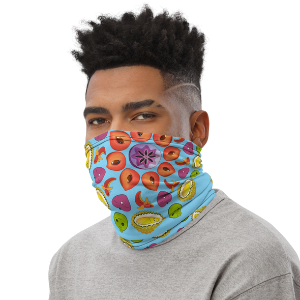 Fruit Mandala Neck Gaiter