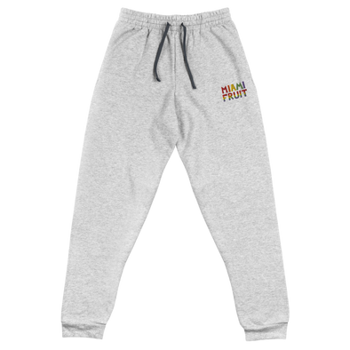 Miami Fruit Embroidered Unisex Joggers